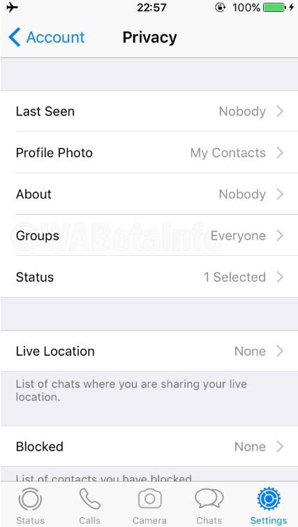 """la función """"invitación a grupo"""" siguiendo la ruta: Configuración de WhatsApp > Cuenta > Privacidad > Grupos. (Foto: especial)"""
