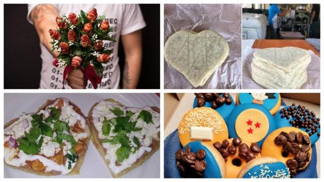 Estos originales alimentos apelan a la frase el amor entra por el estómago (Foto: Especial)