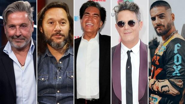 """Ricardo Montaner, Diego Torres, """"El Puma"""" Rodríguez, Alejandro Sanz y Maluma estarán en el concierto"""
