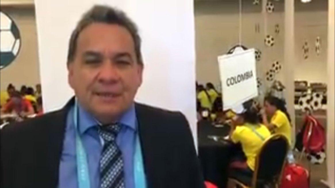 Didier Luna, el entrenador denunciado por abuso (@FCFSeleccionCol)