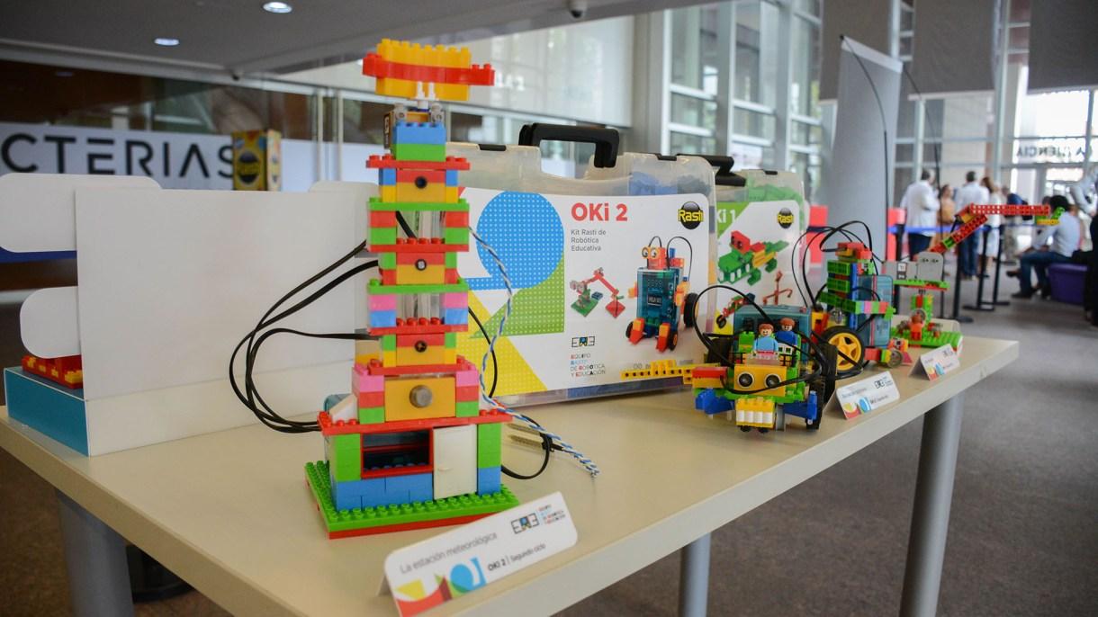 Los Kits de robótica fueron diseñados por docentes, pedagógicos y especialistas en tecnología