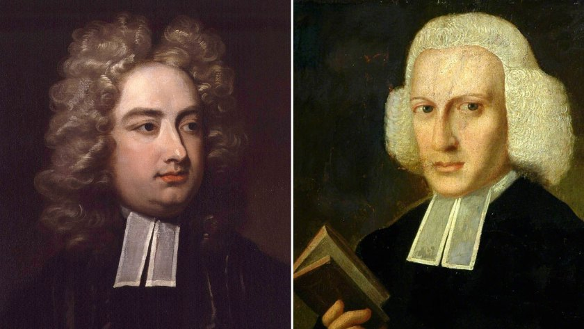 Jonathan Swift y Lawrence Sterne