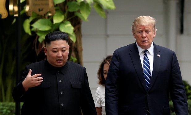Kim Jong-un y Donald Trump (REUTERS/Leah Millis)