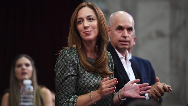 María Eugenia Vidal y Horacio Rodríguez Larreta
