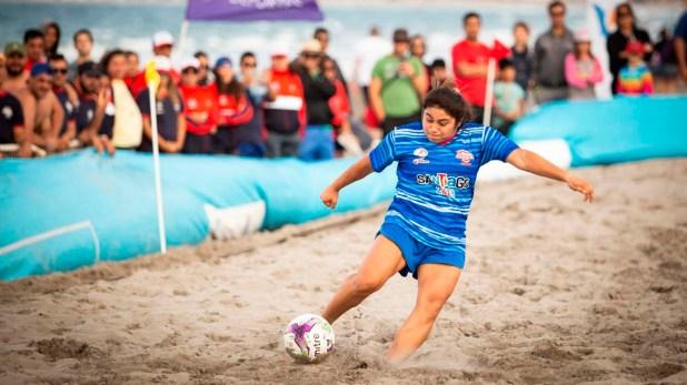 El fútbol femenino fue otro de los grandes eventos que cautivó a los fanáticos
