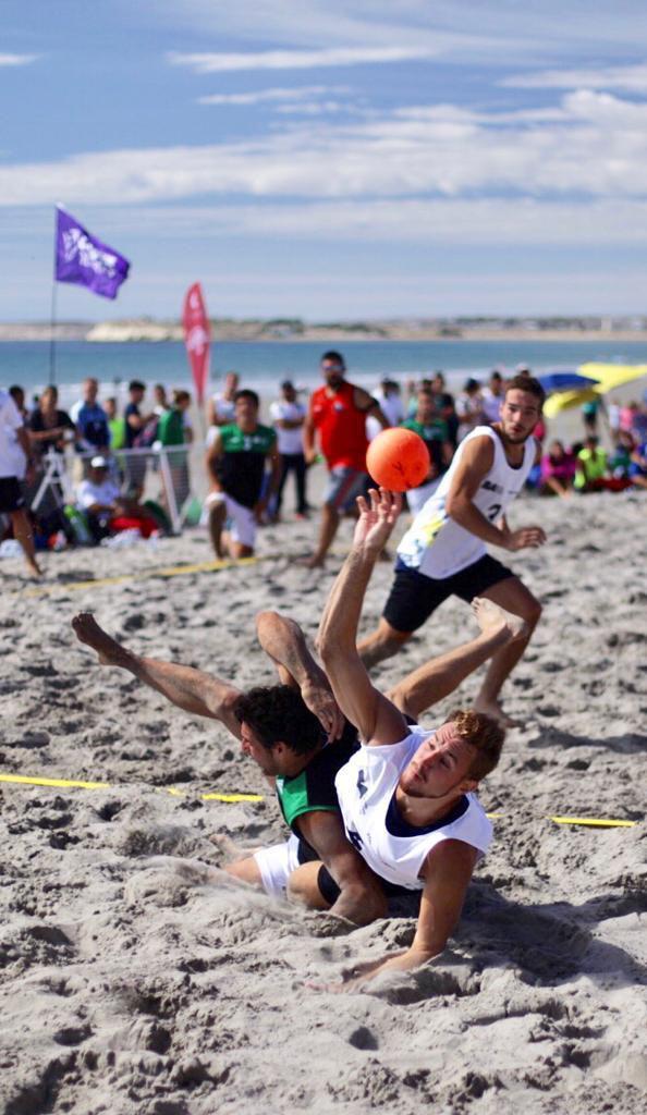 La Provincia de Buenos Aires volvió a dar la nota este año en el beach handball masculino