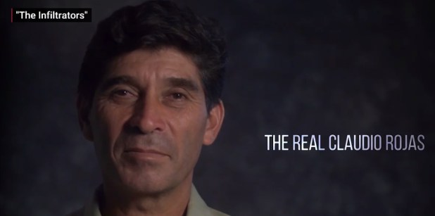 "Carlos Rojas protagonizó ""The Infiltrators"""
