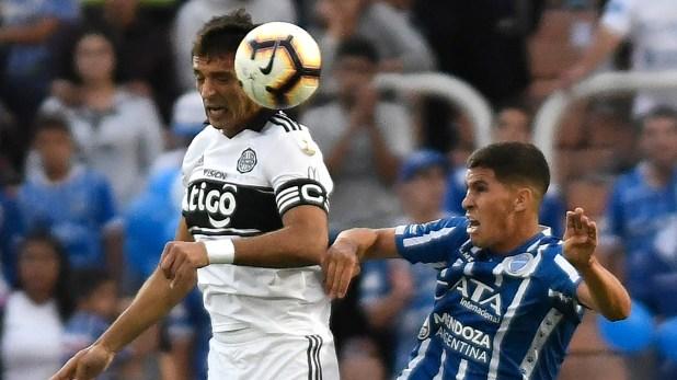 En el estreno de la Copa Libertadores 2019, el Tomba no pudo frente a Olimpica: igualó sin goles en el estadio Malvinas Argentina de Mendoza. (AFP)
