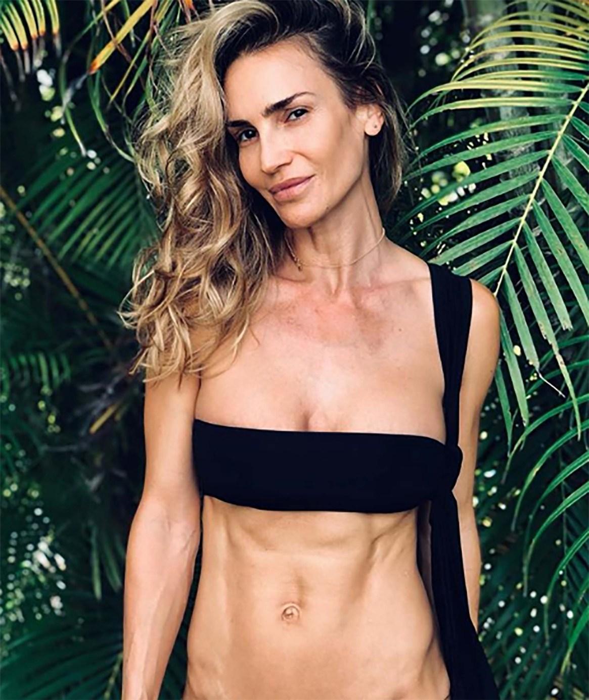 La modelo María Vazquez fue criticada en Instagram por subir una foto de bikini