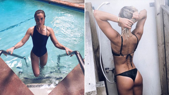 Sarah Bro, la nadadora olímpica que conquistó a Zac Efron