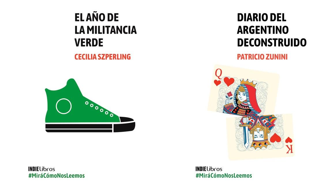 Los libros de Cecilia Szperling y Patricio Zunini de la colección #MiráCómoNosLeemos