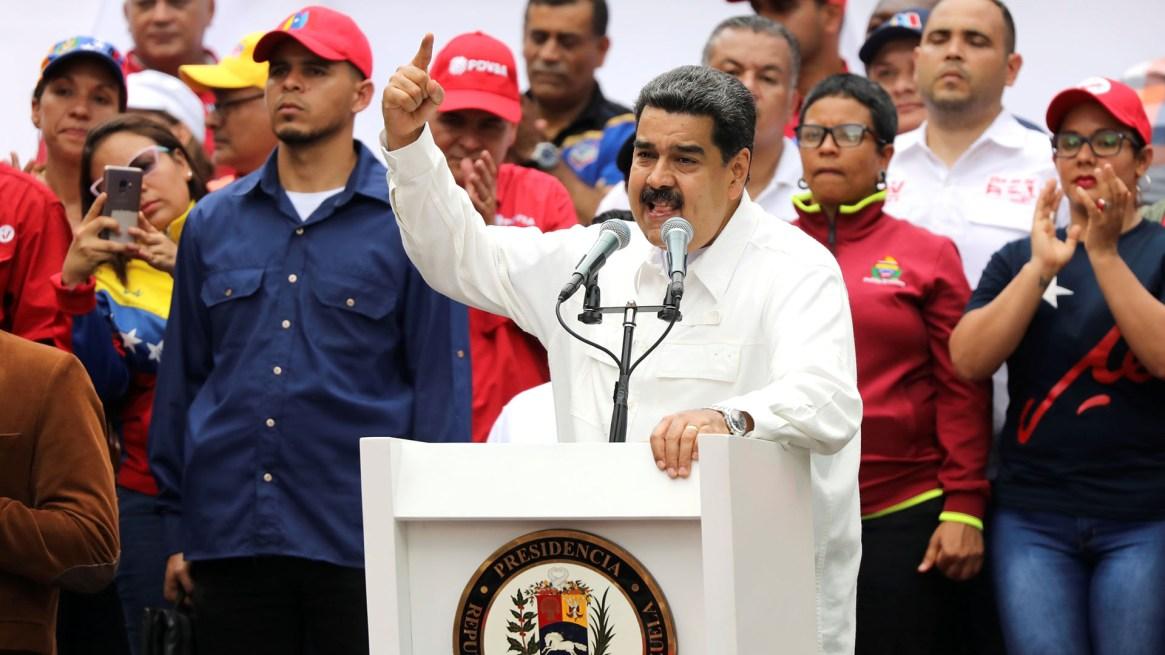Nicolás Maduro en un acto en Caracas, Venezuela, el 9 de marzo de 2019 (REUTERS/Manaure Quintero)