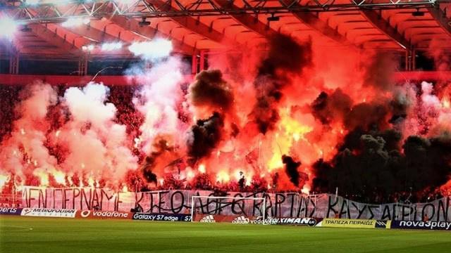 Los ultras del Olympiakos son uno de los grupos más violentos de Europa