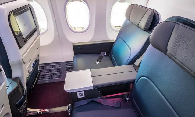 El Max ofrecía pantallas de alta definición y más espacios entre los asientos (Foto: Aeroméxico)