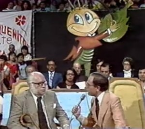 La última aparición de Gabilondo Soler Cri-Cri en la tv, junto a Raúl Velasco (Captura YouTube)