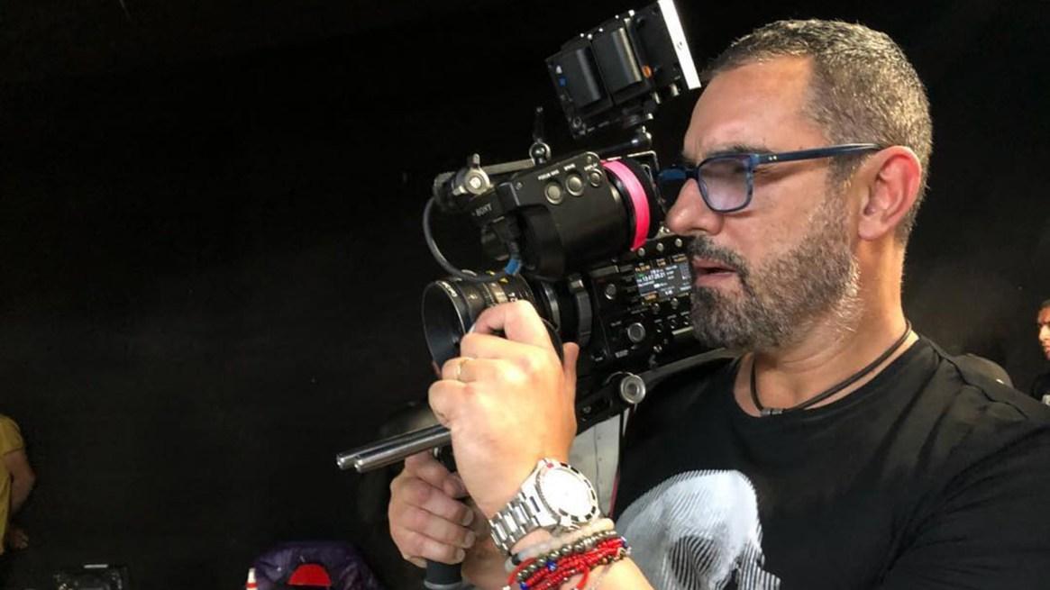 Miguel Varoni, en su rol de director.