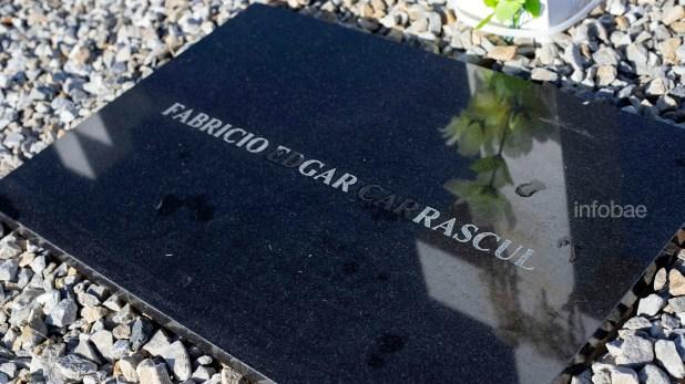 Fabricio Carrascull fue uno de los 22 soldados identificados en el período de un año entre el viaje del 2018 y el de este año