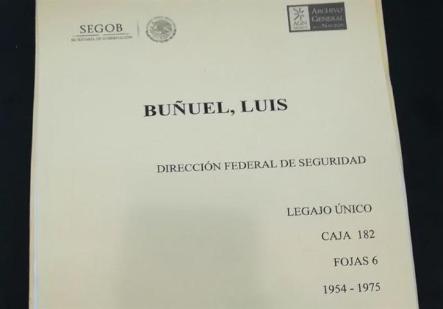 """El """"Agente 69"""" siguió de cerca a Luis Buñuel para informar de la actividad del cineasta a la DFS (Foto: EFE)"""