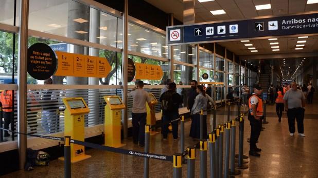 Las estaciones para retirar tickets de taxis