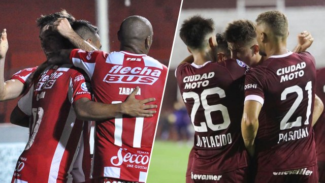 Unión y Lanús juegan en Santa Fe y buscar un lugar en la Copa Sudamericana 2020