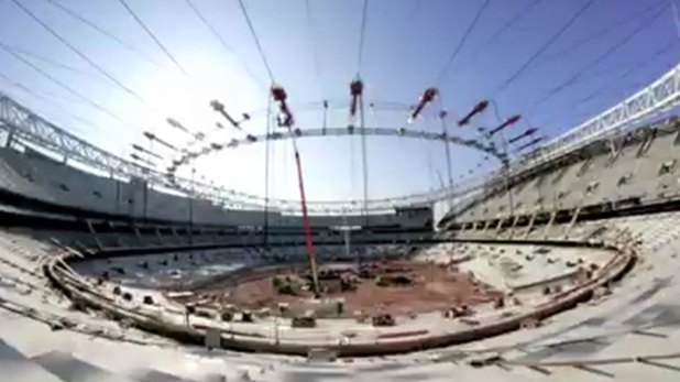 El Wanda Metropolitano, el ejemplo elegido por Bolivia para la construcción de su nuevo estadio.