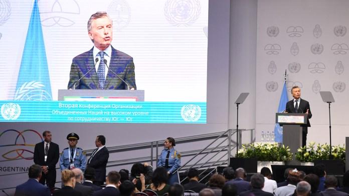 El presidente argentino Mauricio Macri abrió la cumbre en Buenos Aires (Maximiliano Luna)