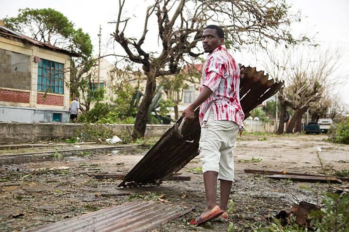 Daños por el ciclón Idai se ve en Beira, Mozambique, el 19 de marzo (REUTERS)