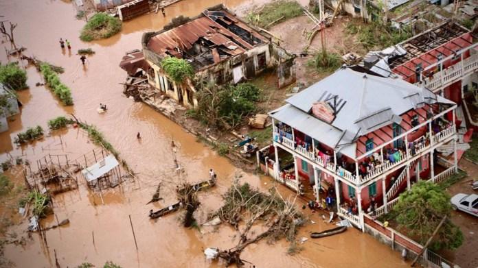 Mozambique fue el primer país afectado por el ciclón Idai (AFP)