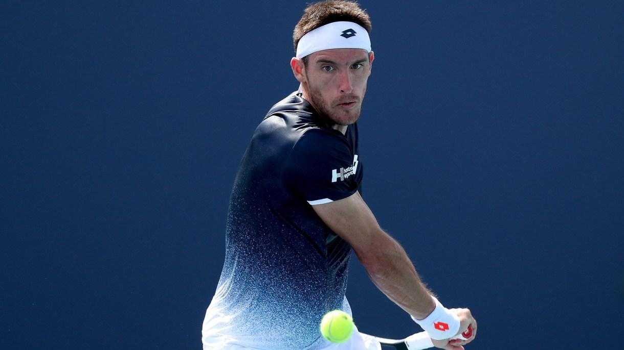 Mayer es uno de los dos argentinos que todavía sigue con vida en el Masters 1000 de Miami (Foto: AFP)