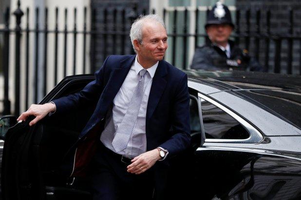 David Lidington asoma como posible reemplazante de May (REUTERS/Peter Nicholls)