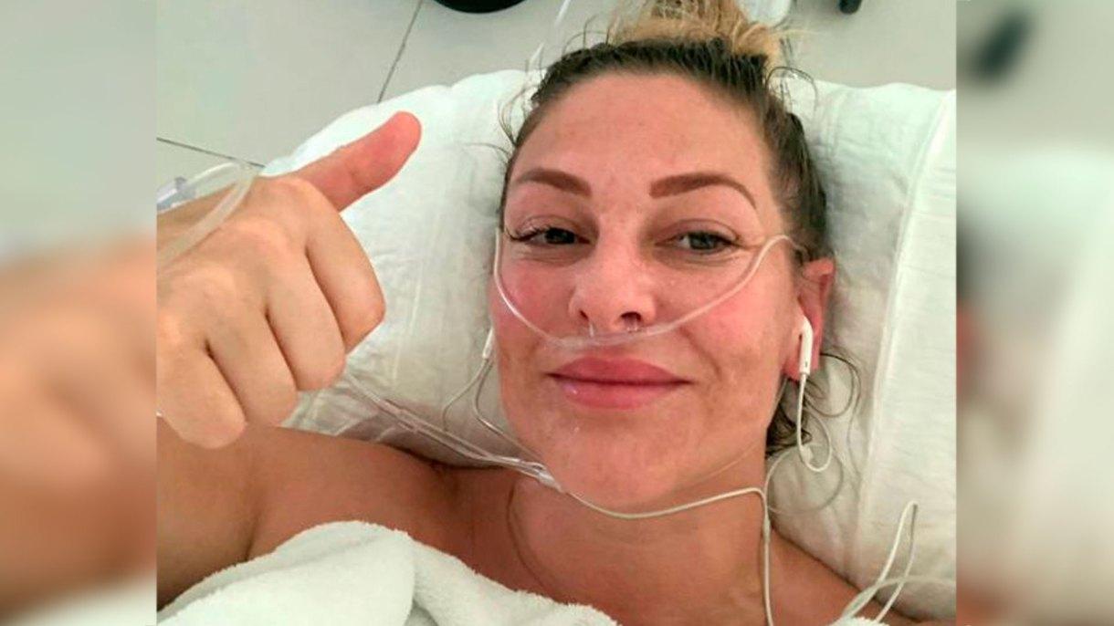 El tumor de una madre con cáncer se redujo 75% después de someterse a un tratamiento alternativo en México (Foto: Facebook kate.lyne.92)
