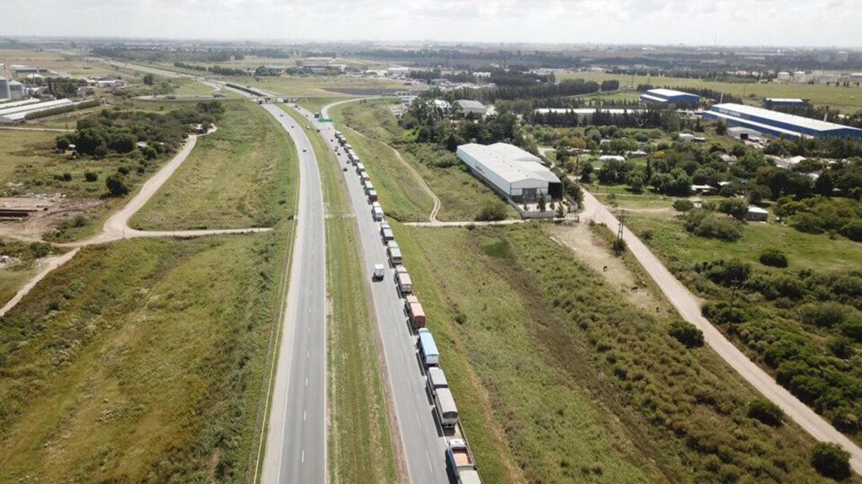 De los 5.115 camiones, 3.060 transportaban maíz.