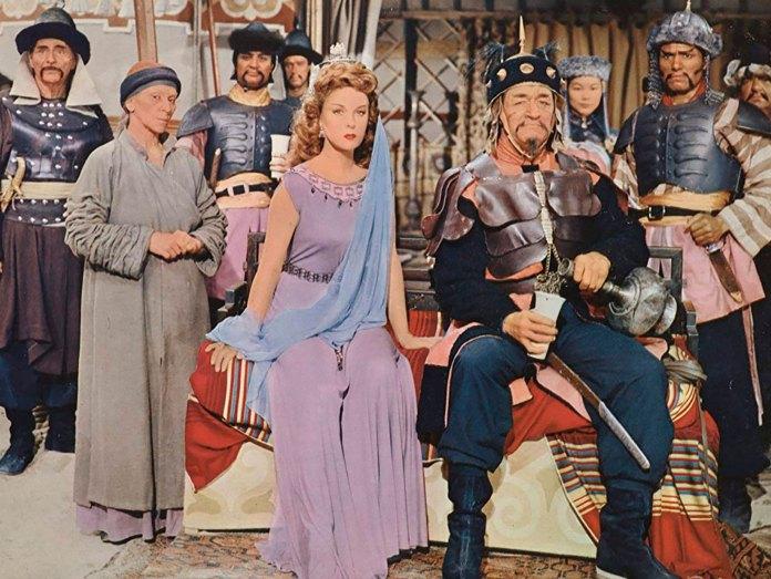 """El casting de estrellas de The Conqueror, o """"El conquistador de Mongolia"""""""