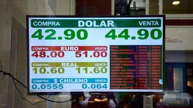 El dólar registró un fuerte salto en la jornada de este miércoles (Franco Fafasuli)