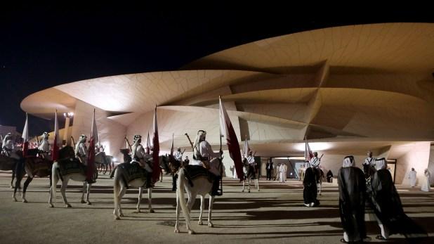 El diseño estuvo a cargo del francés Jean Nouvel(PATRICK BAZ/NATIONAL MUSEUM OF QATAR/AFP)