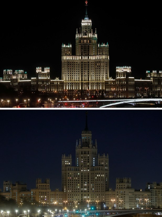 Rascacielos de la era estalinista en Moscú