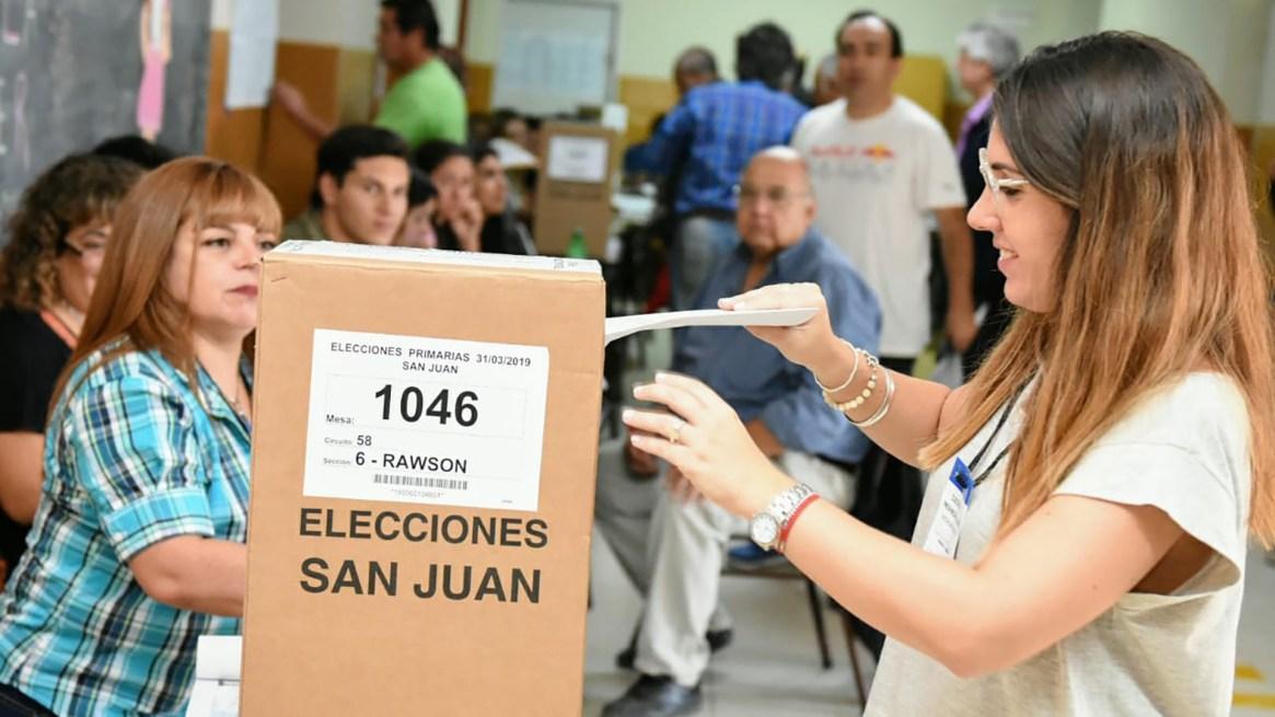 Las elecciones generales de San Juan serán el próximo 2 de junio