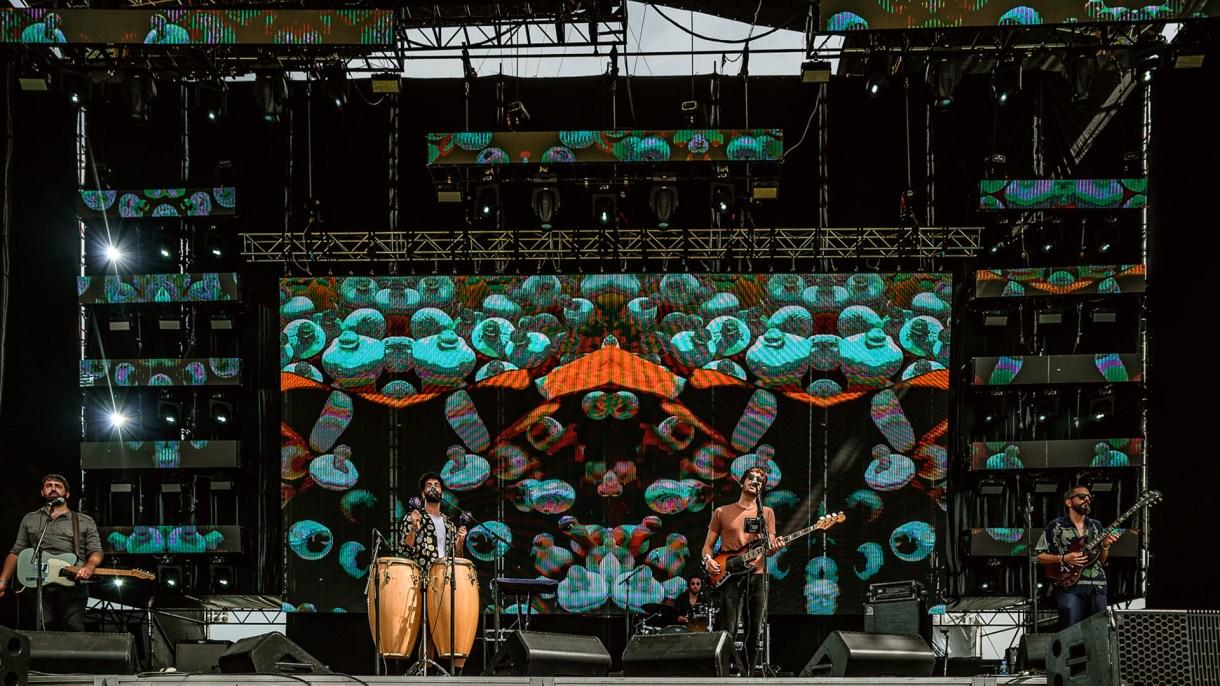 La banda de Colegiales se presentó en el Lollapalooza (Lollapalooza)