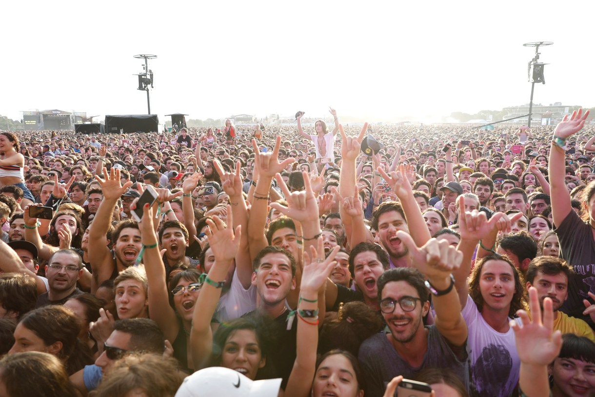 Los fans en el Lolla (Chule Valerga)