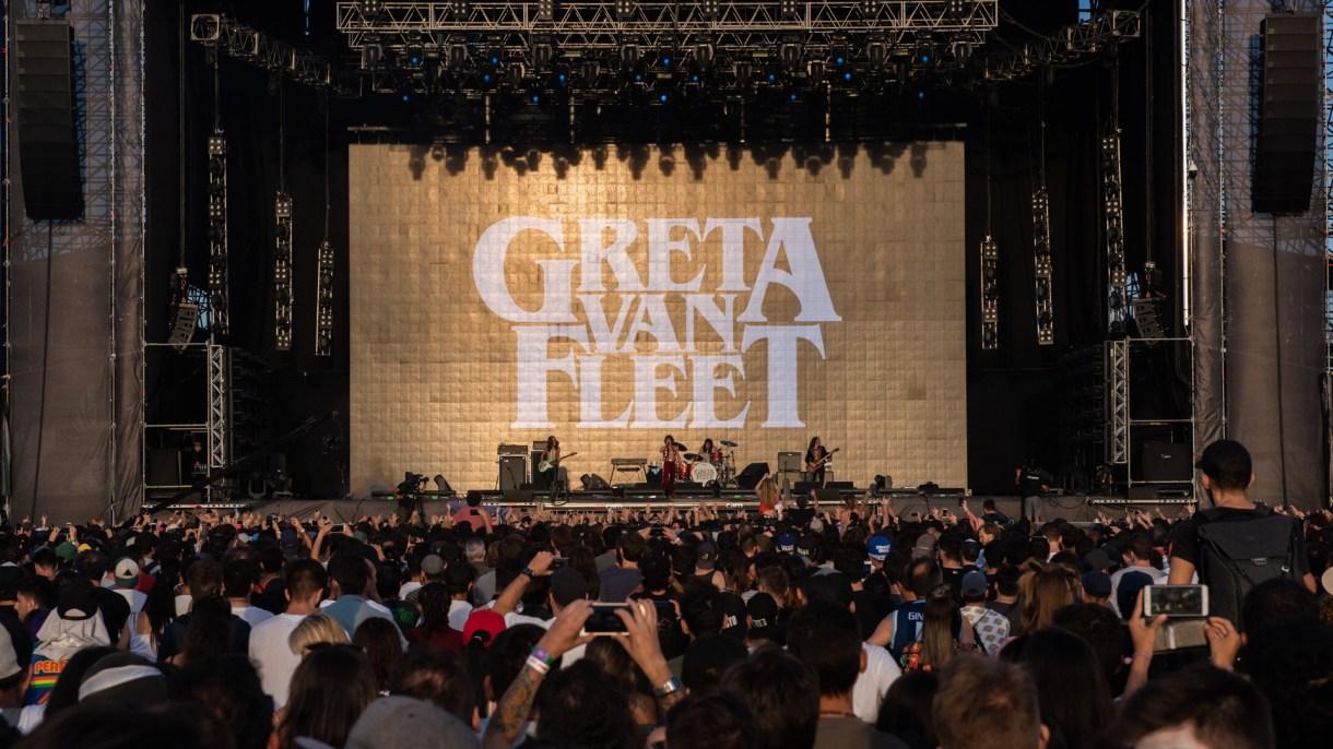 La banda de rock norteamericana en el Main Stage 1 (Adrián Escandar)