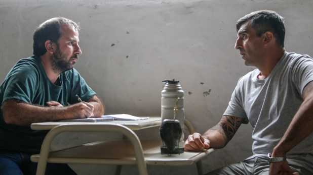 Romero recibió a Infobae en la cárcel de Gorina.