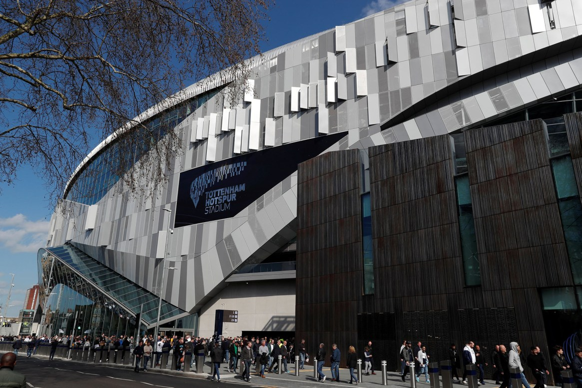 El Tottenham Hotspur, finalista de la Champions, ha estrenado su nuevo estadio haceunas semanas (Reuters)