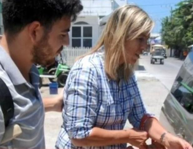 Marisa Scarafia y José Alberto Samid llegaron este domingo a Belice