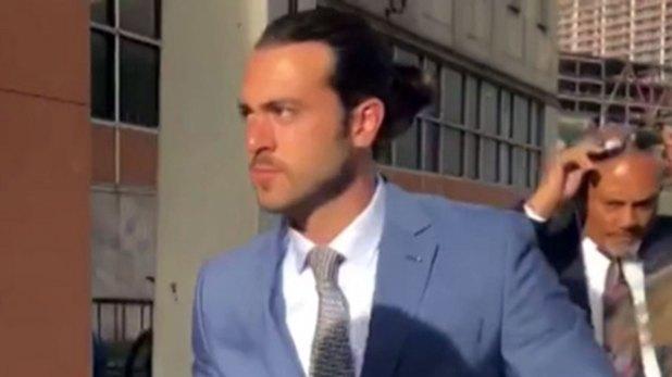 Lyle a su llegada a la corte hace unos días (Captura de pantalla)