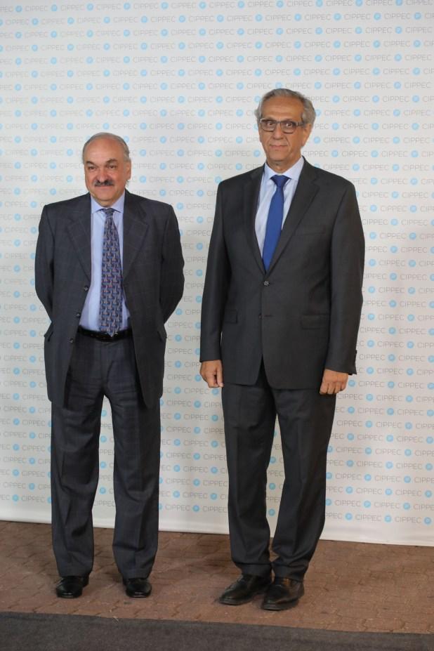 Pedro Villagra Delgado y Facundo Suárez Lastra