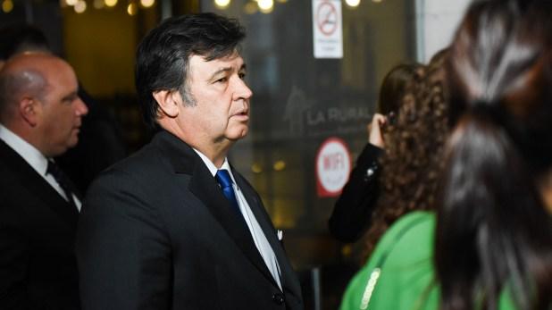 El presidente de la Sociedad Rural Argentina, Daniel Pelegrina