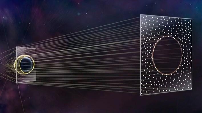 Los agujeros negros fueron anunciados por Albert Einstein en 1915