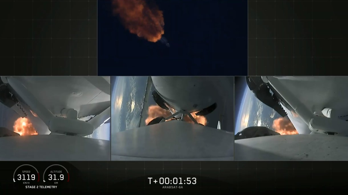 Todo funcionó durante el exitoso despegue del gran cohete de SpaceX