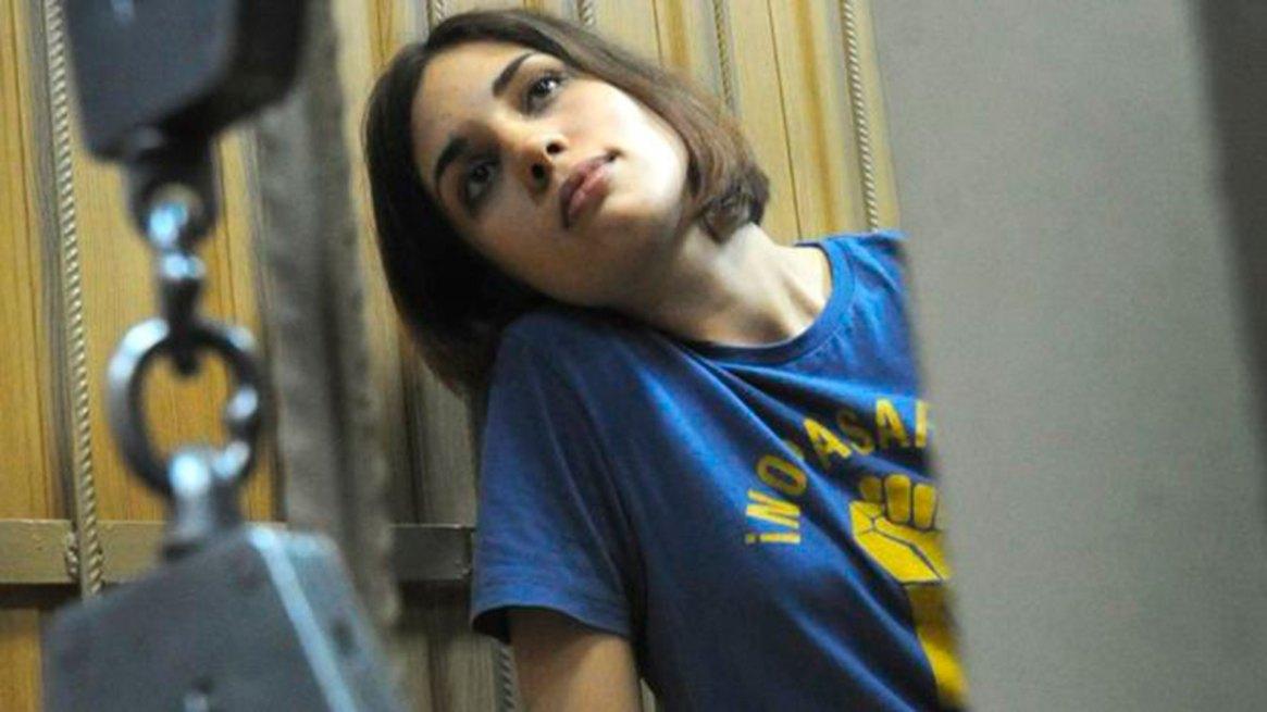 Nadya Tolokonnikova detenida