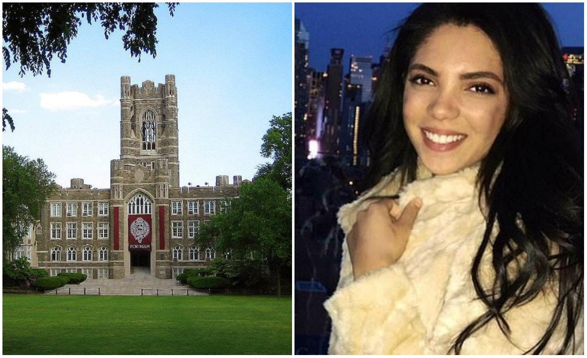 La joven estaba a semanas de graduarse en Periodismo (Foto: especial/ Facebook)